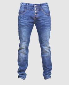 Bogart Man Classic Double Waist Band Jeans