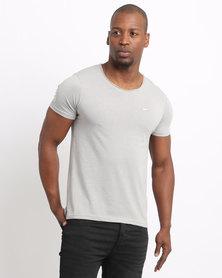 Born Rich Crisiano T-Shirt Alloy Marl