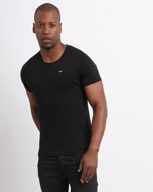 Born Rich Crisiano T-Shirt Black