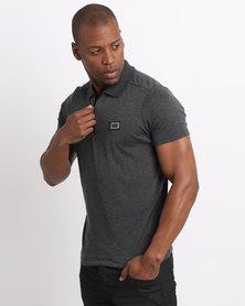 Born Rich Mata Polo T-Shirt Black