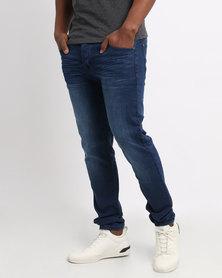 Born Rich Osmium Dark Wash Jeans Blue