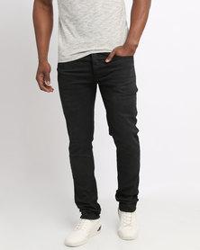 Born Rich Throrium Jeans Black