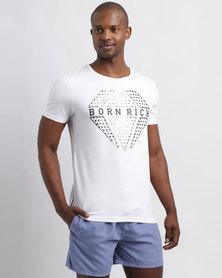 Born Rich Arjen T-Shirt White