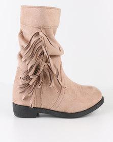 Bratz Girls Tassel Boots Pink
