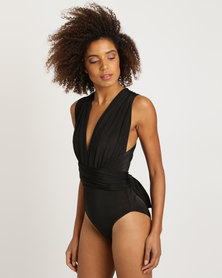 Brett Robson Infinity Bodysuit 8 Ways To Wear Black