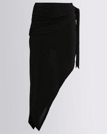 Brett Robson Dineo Asymmetrical Skirt Black