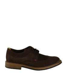 Bronx Men Jump Casual Lace Up Shoe Brown
