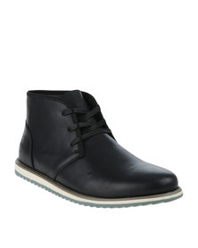 Bronx Men Dwight Lace Up Casual Boot Black