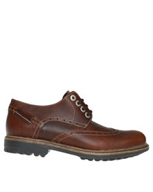 Bronx Men Sasso Casual Lace Up Shoes Brown