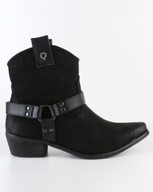 Bronx Women Robin Ankle Boot Black *Exclusive Online