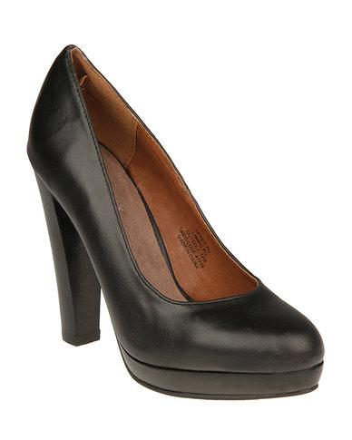 Bronx Tanya Heels Black