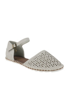 Bronx Woman Aurore Mary Jane Pump Grey