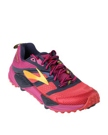 Brooks Cascadia 12 Trail Running Shoes Pink
