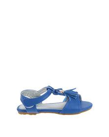 Bubblegummers Flat Sandal Blue