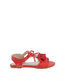 Bubblegummers Flat Sandal Red