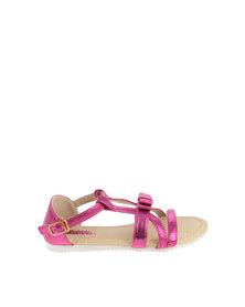 Bubblegummers Flat Sandal Pink