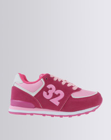 Bubblegummers Dallas 32 Sneaker Pink