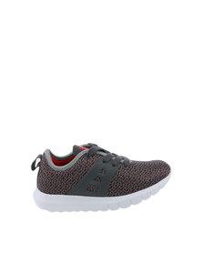 Bubblegummers Cyprus Sneaker Grey & Red