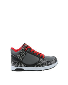Bubblegummers Funkier Hi Top Sneaker Grey & Black