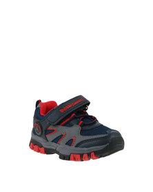 Bubblegummers Force Hiking Sneaker Navy & Red