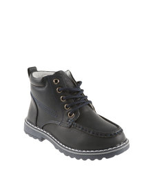 Bubblegummers Boys High Top Boots Blue