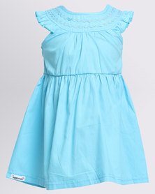Bugsy Boo Princess Sky Dress Light Blue