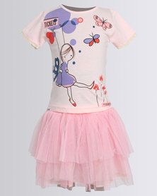 Bugsy Boo Summer Love Dress Pink