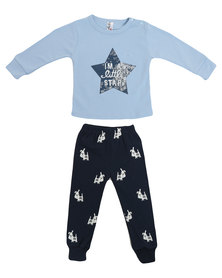 Bugsy Boo Super Star Tracksuit Blue