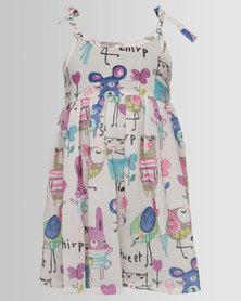 Bugsy Boo Graffitti Dress Multi