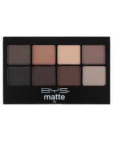 BYS 8 Palette Matte Eyeshadow Palette Neutrals