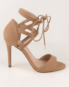 Call It Spring Crauwien Heeled Sandals Nude