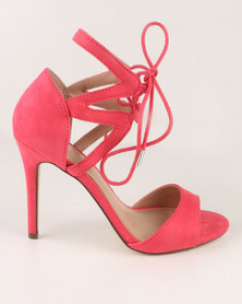 Call It Spring Crauwien Heeled Sandals Pink