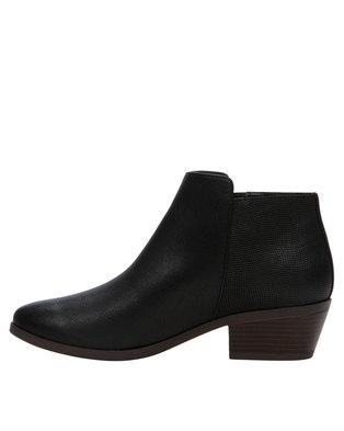 Call It Spring Gunson Boots Black