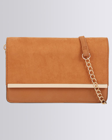 Call It Spring Carinato Clutch Tan