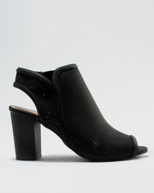 Call It Spring Medassa Block Heels Black