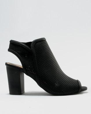 Call It Spring Medassa Block Heels Black