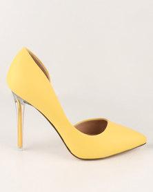 Call It Spring Thaoven High Heels Light Yellow
