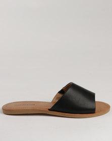 Call It Spring Thirenia Slide Sandals Black