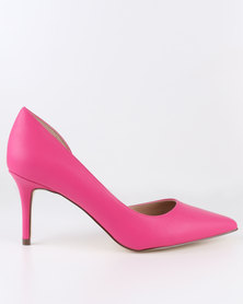Call It Spring Toppen Heels Pink
