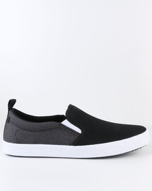 Call It Spring Hugone Slip Ons Black