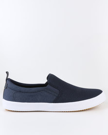 Call It Spring Hugone Slip Ons Navy