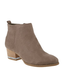 Call It Spring Drillan Boots Taupe