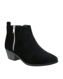 Call It Spring Cheltenhama Boots Black