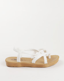 Candy Strappy Sandal White