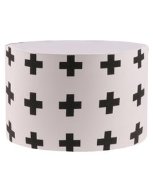 Casa Culture Swiss Cross Lampshade White