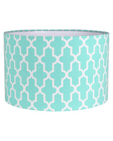Casa Culture Geometric Lamp Shade Mint