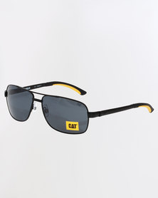 CAT Eyewear Double Bridge Aviators Black