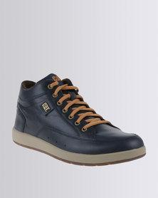 Caterpillar Broadwick Leather Casual Lace Up Boot Estate Blue