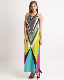 Cath Nic By Queenspark Mexican Surprise Woven Dress Multicoloured