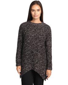 Catwalk 88 Emily Chunky Tunic Sweater Multi